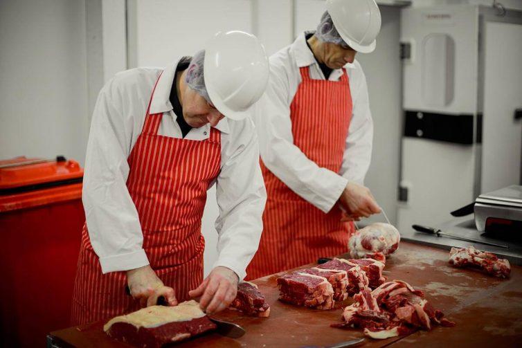 butchers wear white