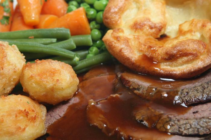 Roast Dinners - Burts Catering Butchers